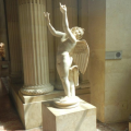 Statue: Angel with Upraised Arms